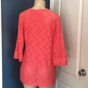 Laundry By Shelli Segal Tops - Laundry by Shelli Segal tunic / cover up sz S